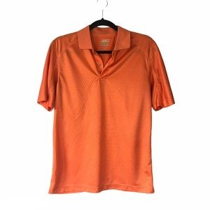 IZOD perform golf slim fit short sleeve shirt S